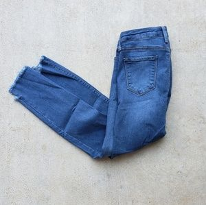 Ankle Length Jeans.